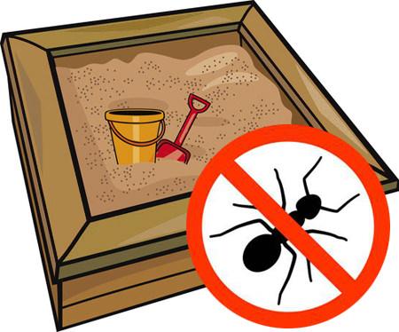 Ameisen im Sandkasten