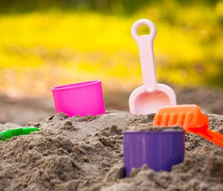 Sandspielzeug für Kleinkinder